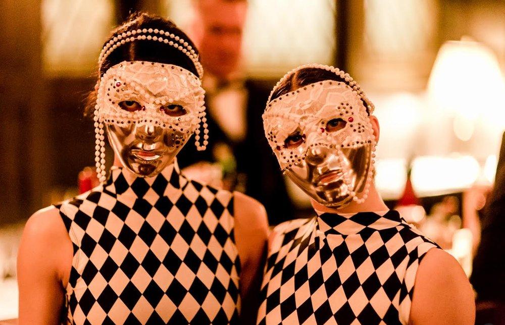 Masked Harlequins