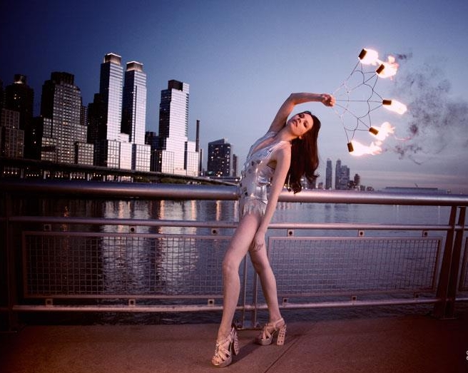 Fire Showgirl
