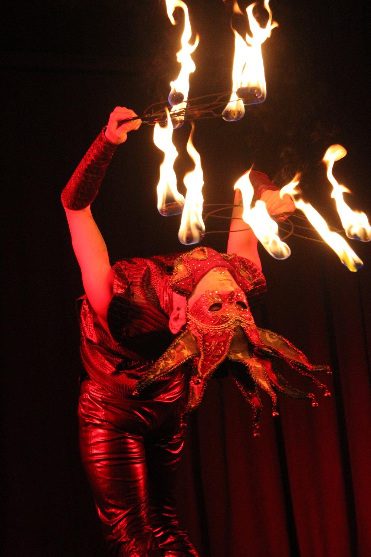 Fire Harlequin | Venetian Valentine