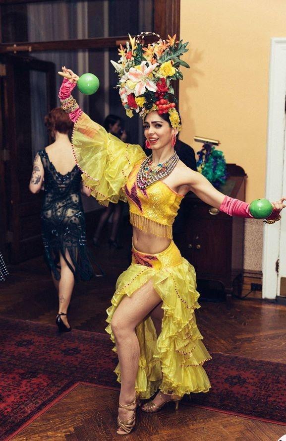 Carmen Miranda Samba Brazilian Havana Dancer