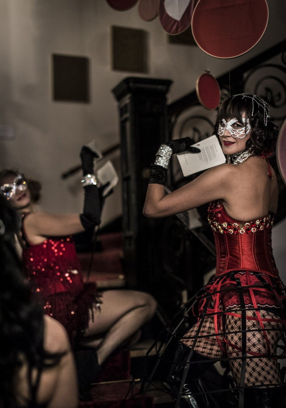 Masquerade Dancers / Photo: Stephen Lamarche