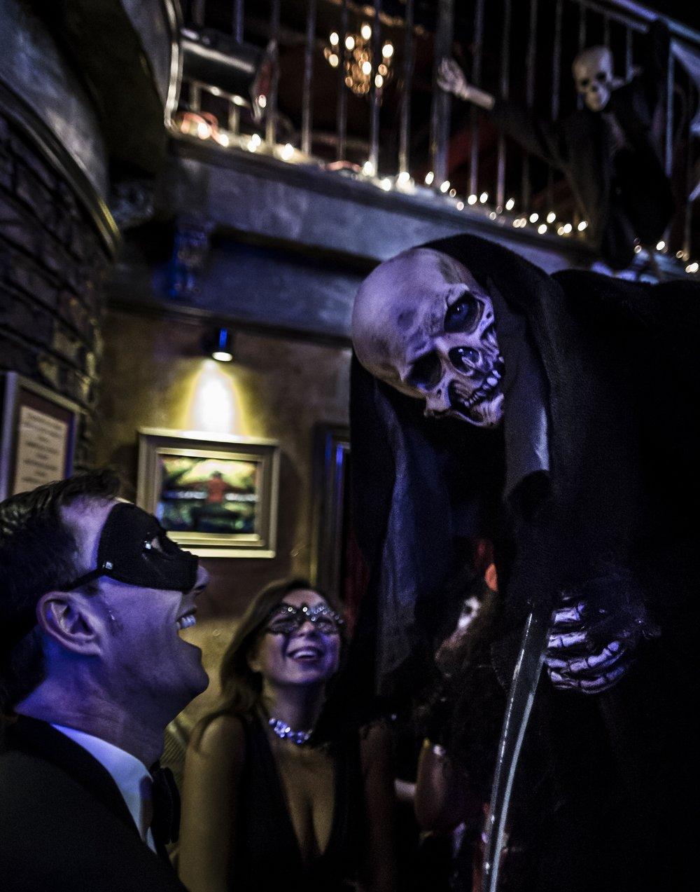 Grim Reaper Death Stilt Walker