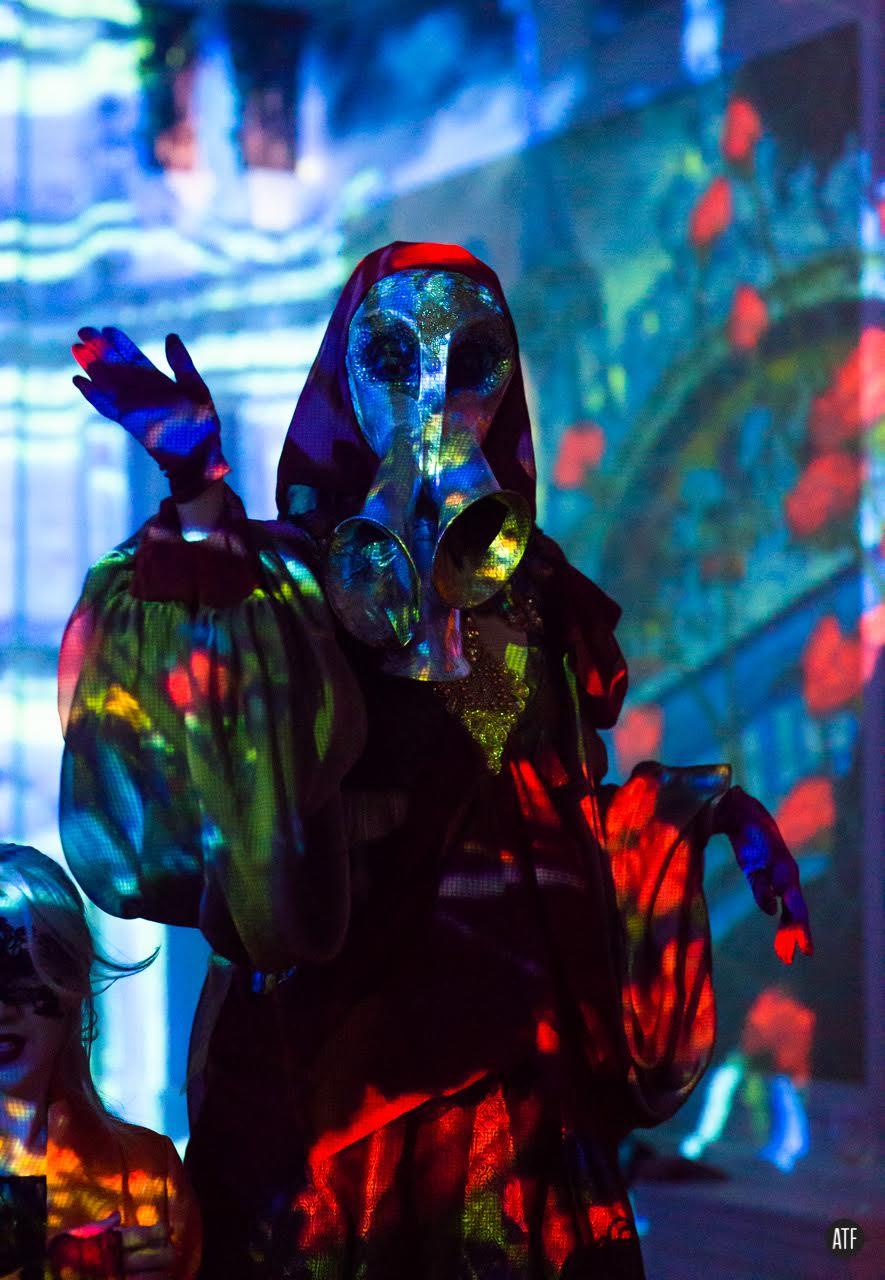 Fantasy Costume Stilt Walker