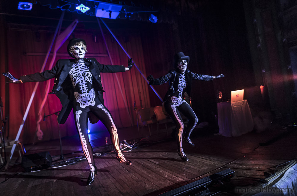 Tap Dancing Skeletons