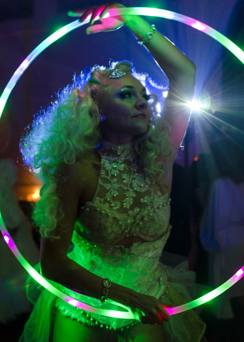 LED Hula Hoopist