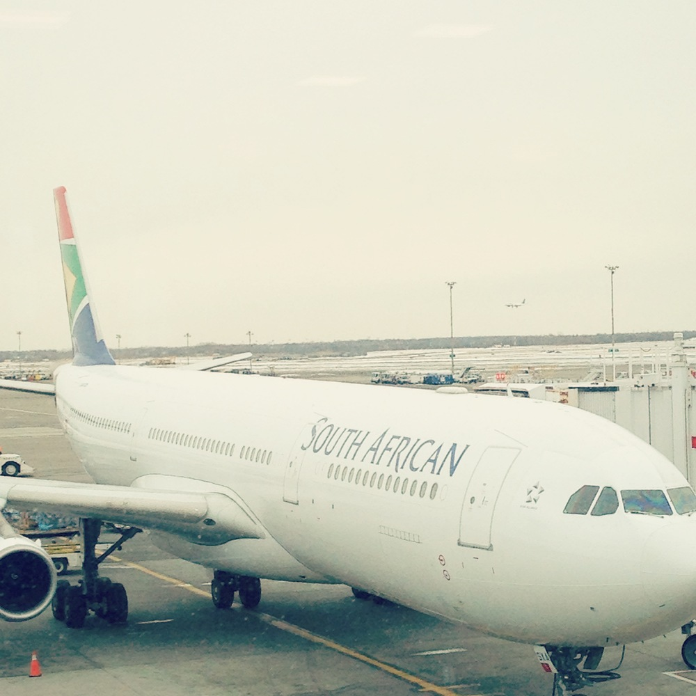 Our Plane to Johannesburg