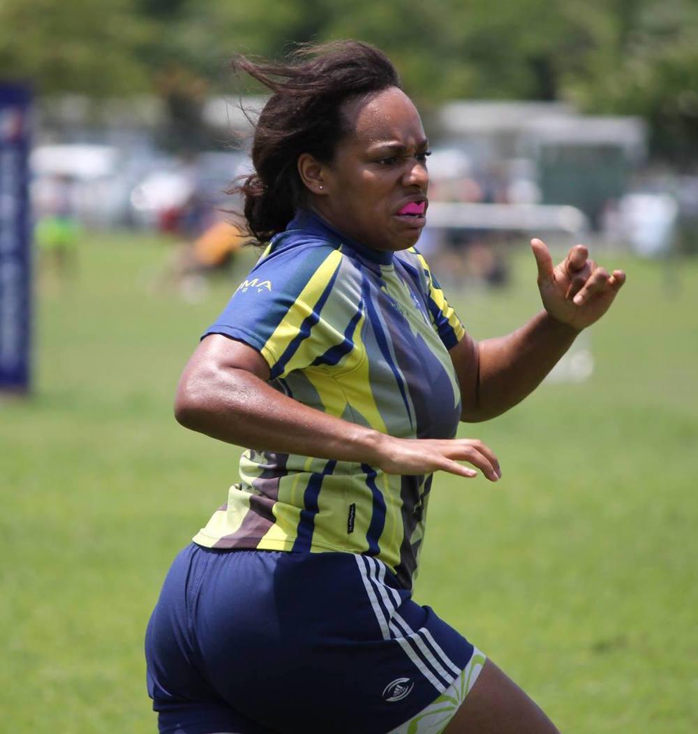 Sharifa Love, Washington DC Furies team training client