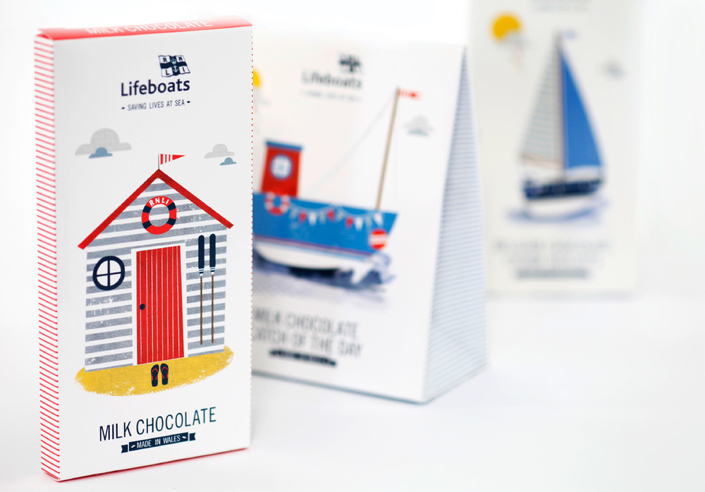 RNLI - Packaging - Vicki Turner