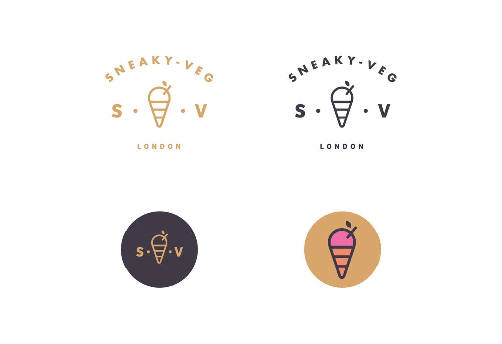 Sneaky Veg - Brand ID
