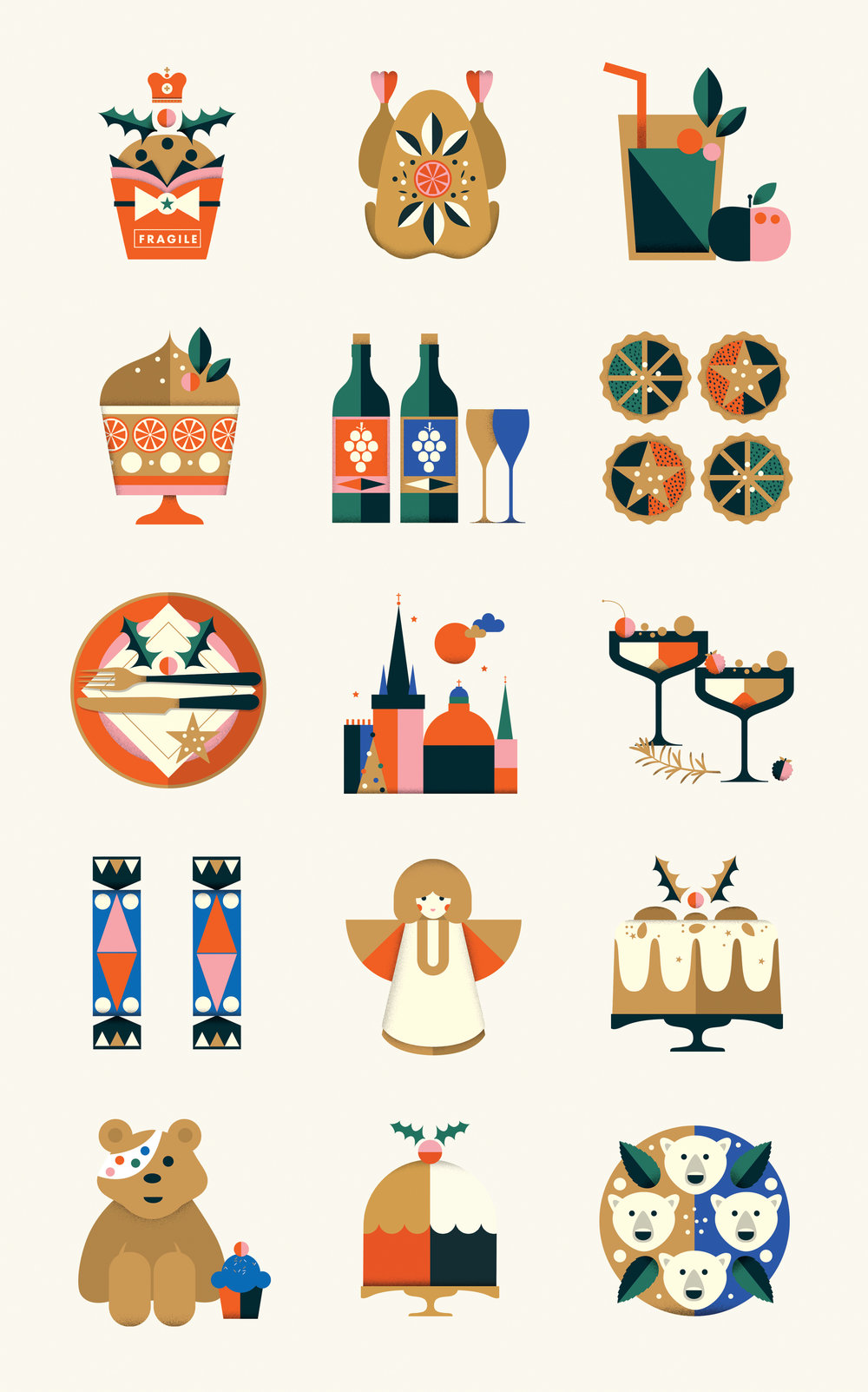 BBC Good Food Icons by Vicki Turner