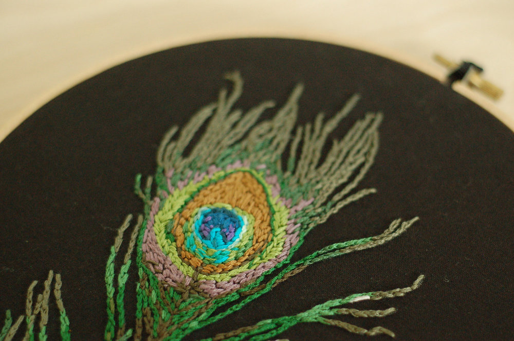 Peacock feather, 2013