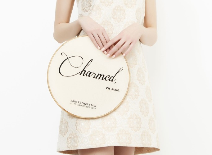 Charmed, I'm Sure for Erin Fetherston, 2014