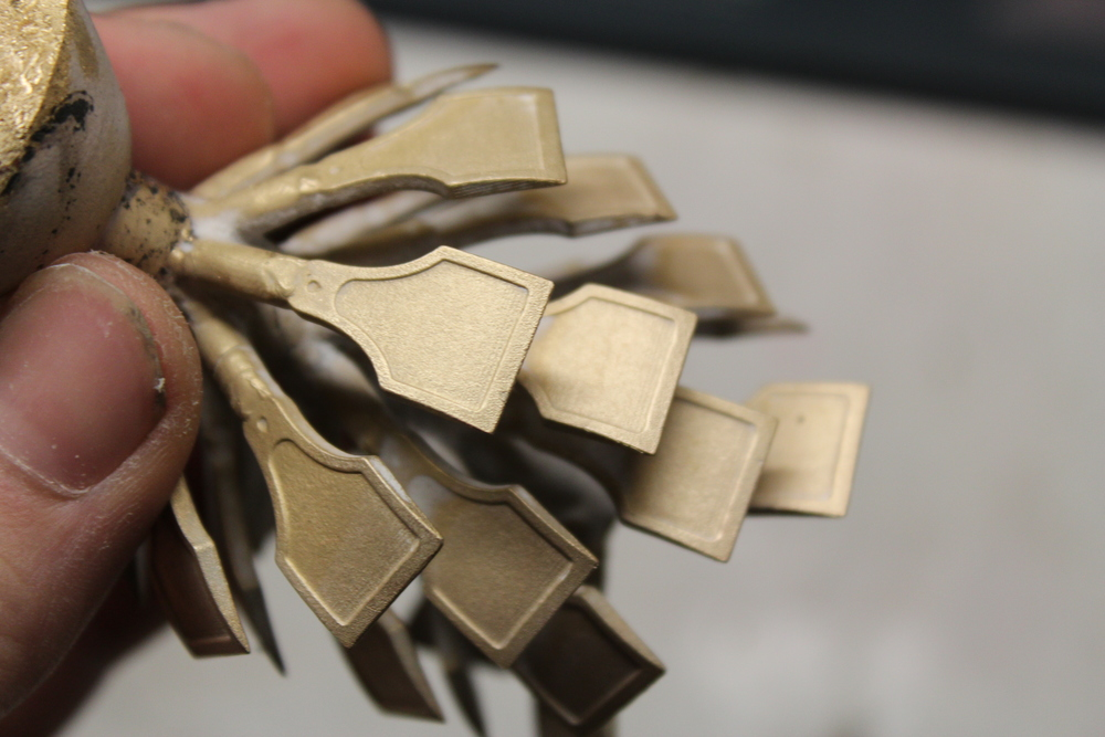 Cap iron castings - Silicon Bronze