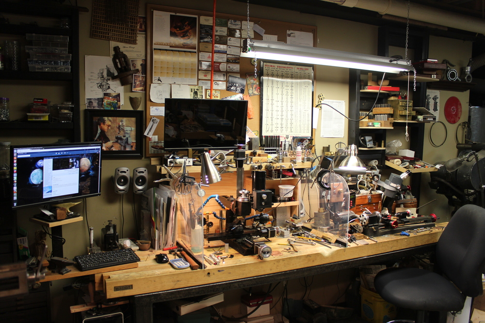 My micro machine shop.