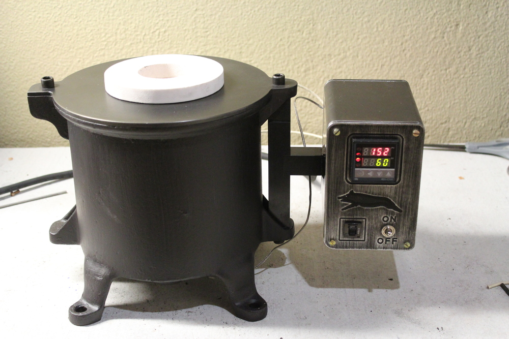 how to build a homemade metal melting furnace