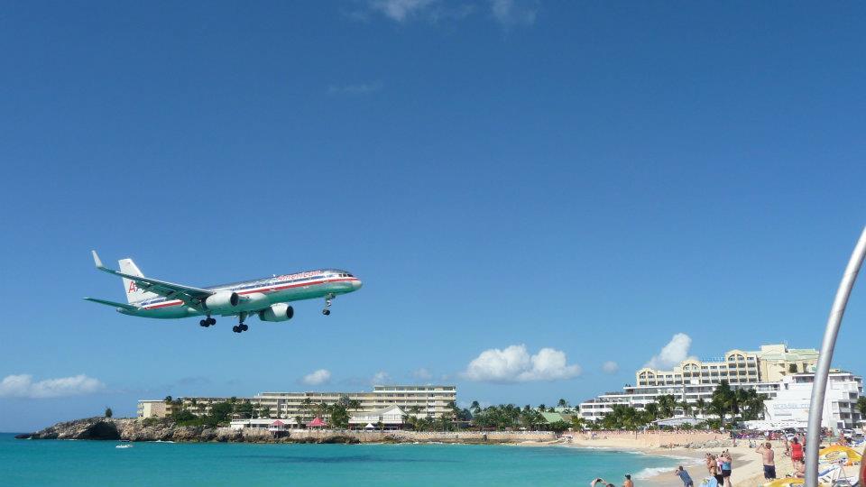 Maho Beach. St. Maarten.