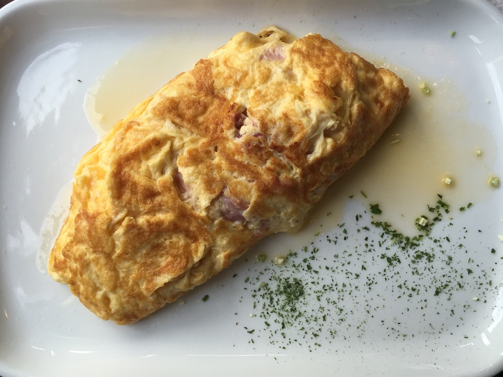 The best omelettes are in France
