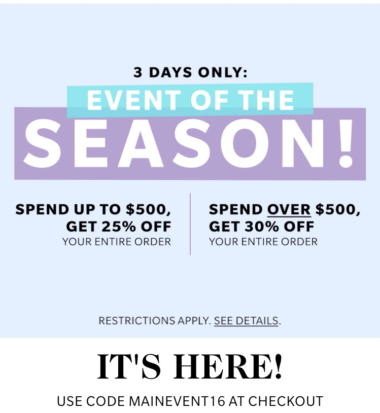 Shopbop MAINEVENT Sale