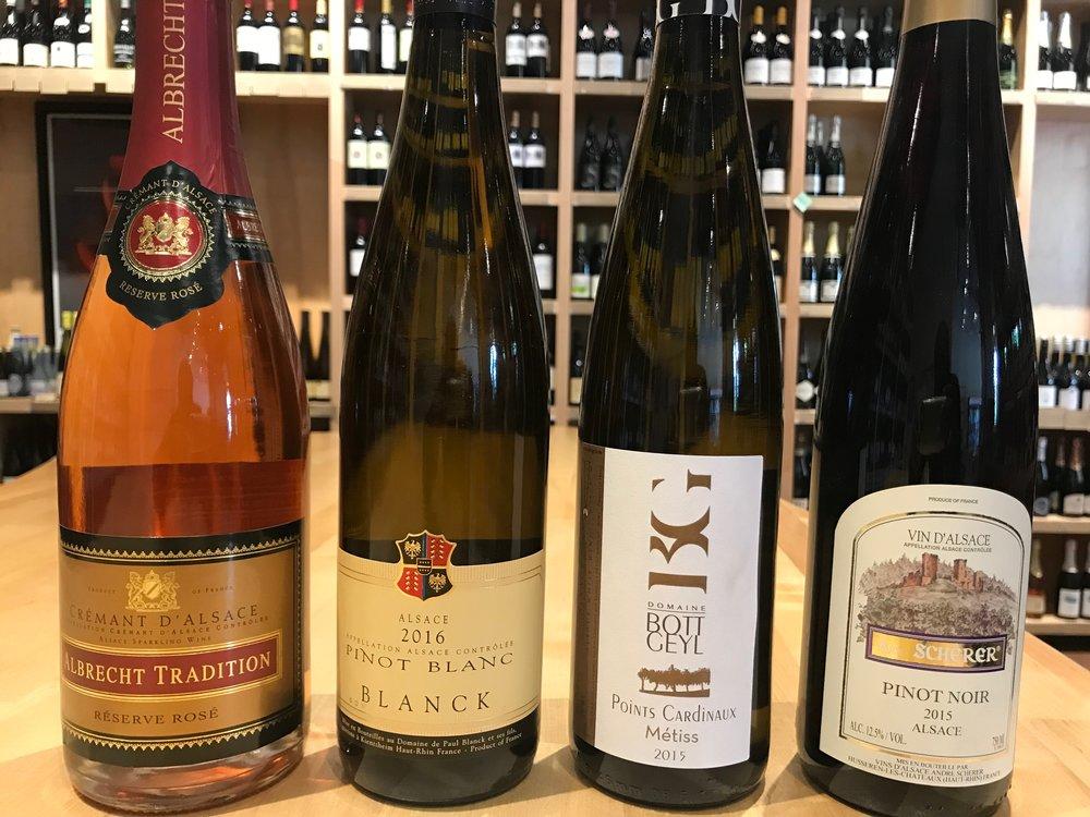 Alsatian Wines