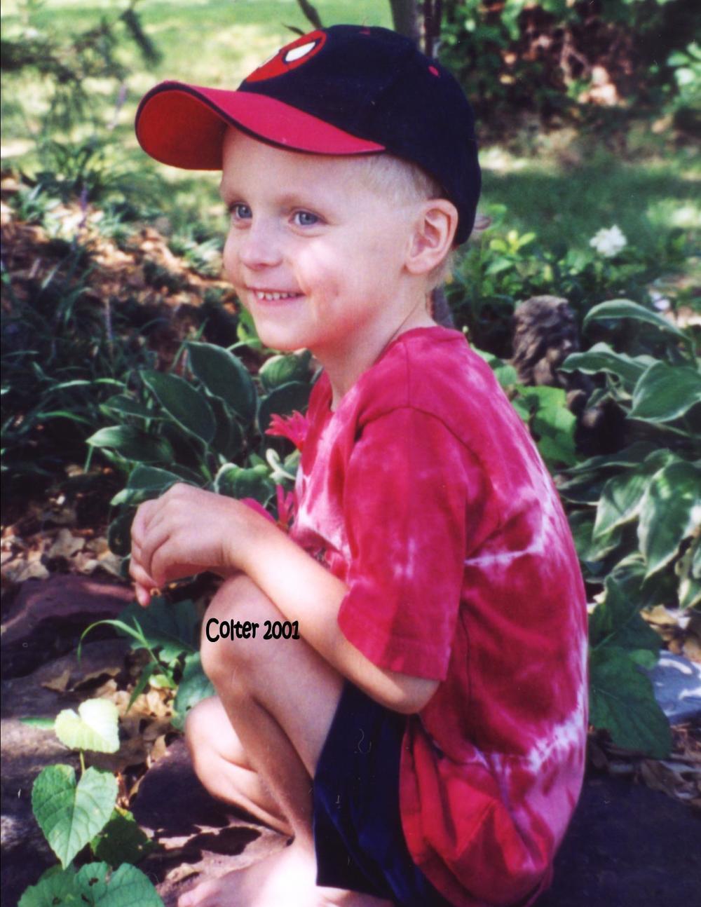 Colter Donovan Eaton, 2001