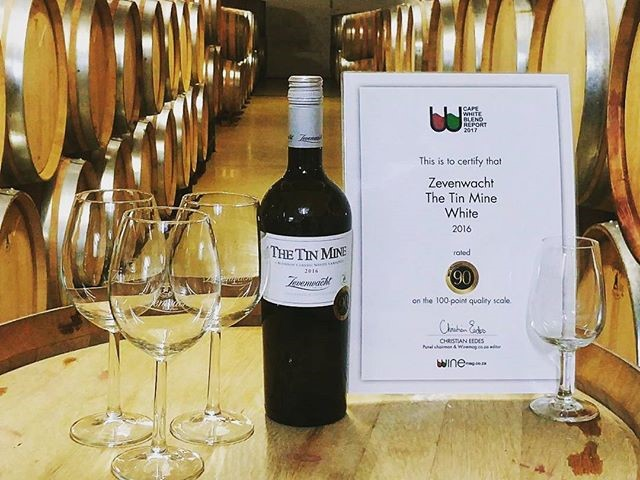 The Tin Mine 2017     - Zevenwacht Wine EstateStellenbosch, Zuid-Afrika