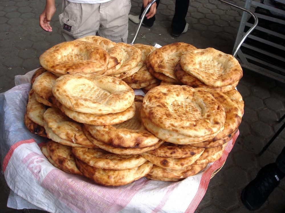 Tandyr nan (Tandoori naan)