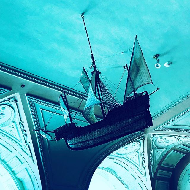 Flying sailship from my daydreams