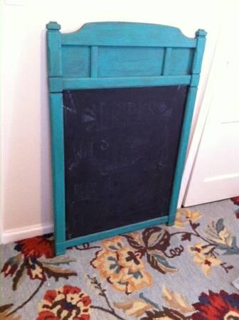 Framed Chalkboard $30