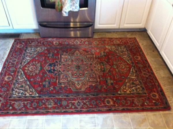 Antique Wool Oriental Rug 4' x 6' $70