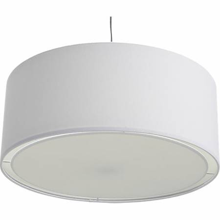 CB2 White Pendant Light $35