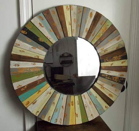 Barnwood Mirror $40