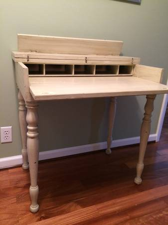 Antique Table/Writing Desk $100  - This is a table that folds back to be a little writing desk.