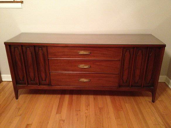 Mid Century Dresser $400  - This dresser looks like its in great condition, I think it would make a nice media cabinet.