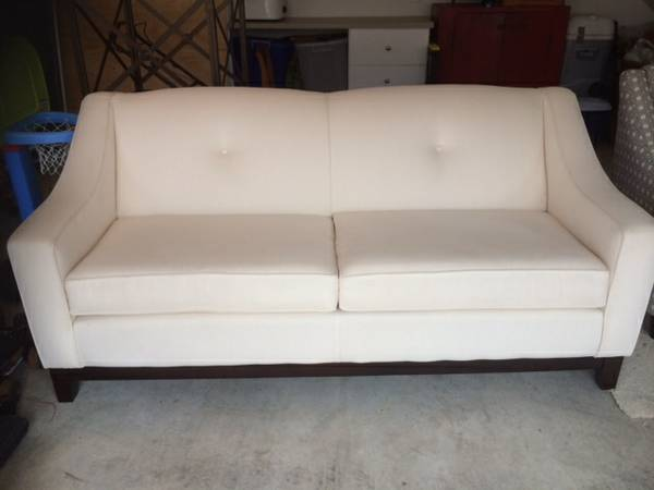 Couch, Chair and End Table set $650 - Was in a formal living room so was rarely used.
