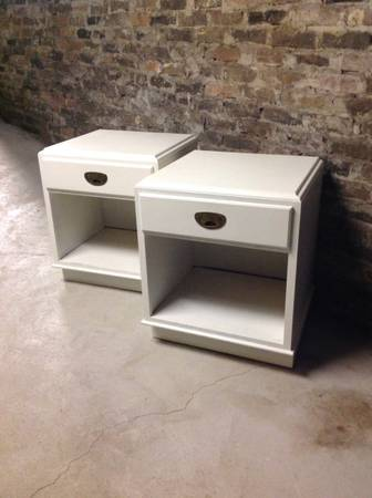 Pair of Nightstands $50