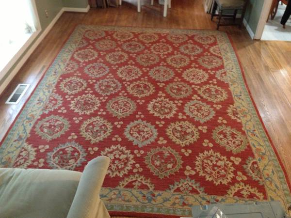 Pottery Barn 9' x 12' Rug $200  - This is a great price for a 9' x 12' rug.