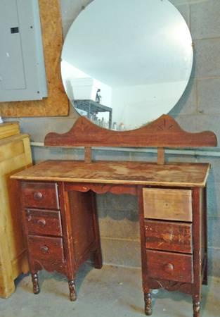 Antique Vanity $75