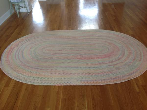 Pottery Barn Kids Rug $125  - This would be cute in a nursery.