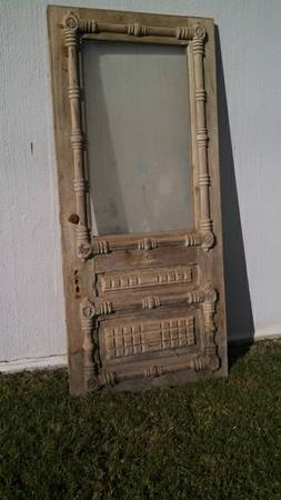 Antique Door $350  - At the Habitat ReStore in Franklin.