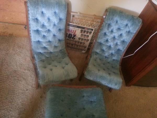 Japanese Obi Chairs $50  - I'm personally not familiar with this type of chair, however I think in the right room they could be pretty cool and for $50 I think they are a good deal.
