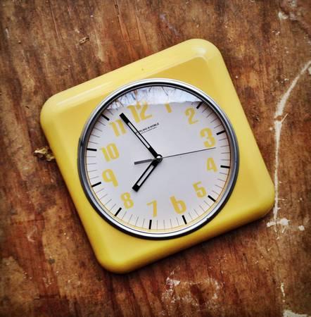 Retro Style Wall Clock $10