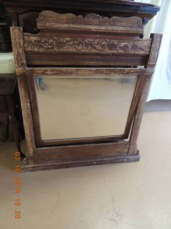 Antique Mirror $100 - I think this is a great piece with a lot of character.