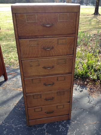 Antique Oak Filing Cabinet $250 obo