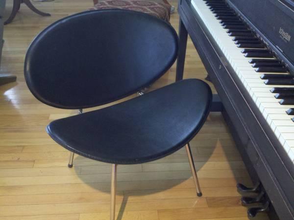 Black Modern Chair $20