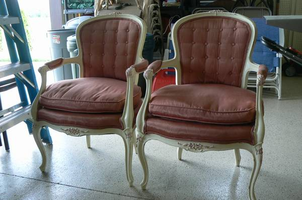 Queen Anne Chairs $100