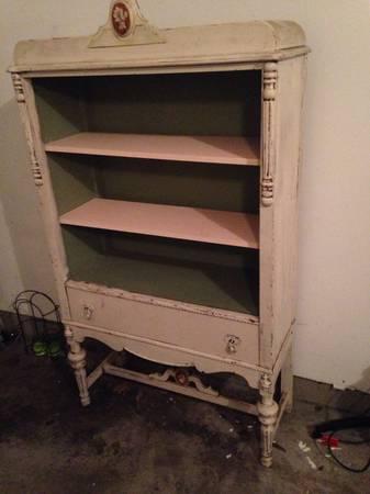 Vintage Armoire/Bookshelf $250