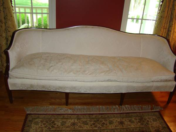 Brocade Fabric Couch $275