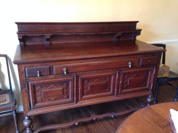 Antique Buffet $100  - This is a really good deal and would look great painted.