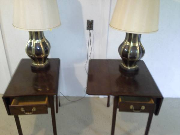 Pair of End Tables $35