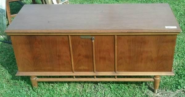 Mid Century Storage Chest $135